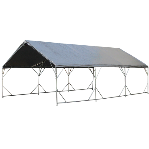 "18' X 50' Reinforced Valance Canopy 1-5/8"" (20' X 50' Top Cover)"