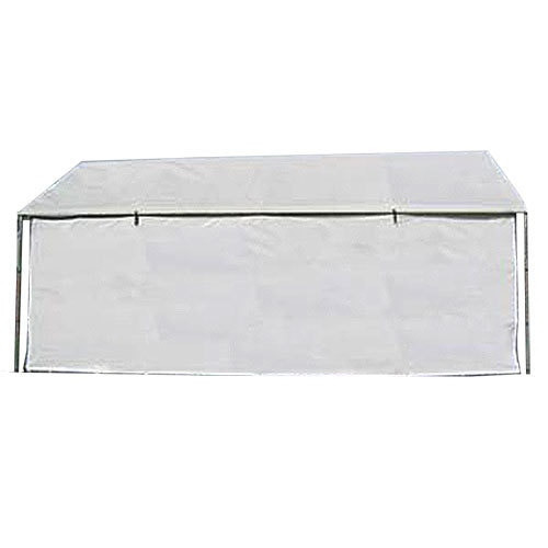50' PVC Valance White Side Wall With Windows (1pc./pack)