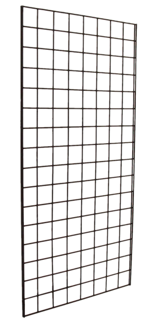 2' X 5' Chrome Gridwall