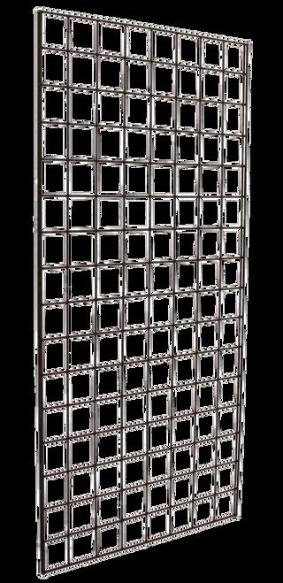 1' X 5' Chrome Gridwall