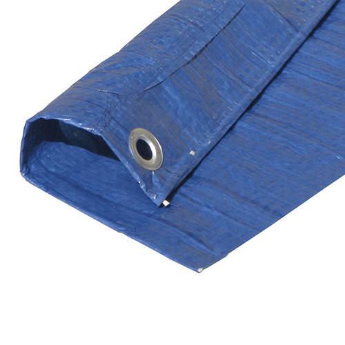 "60' x 60' Regular Duty Utility Blue Tarp (Actual Size 59'6"" X 59'6"")"