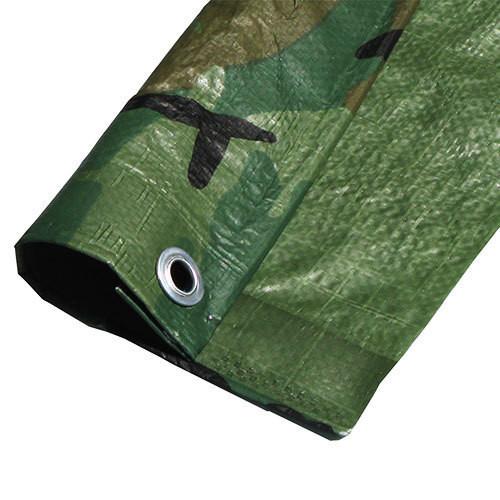 "08' X 10' Medium Duty  Camouflage Poly Tarp (Actual Size 7'6"" X 9'6"")"