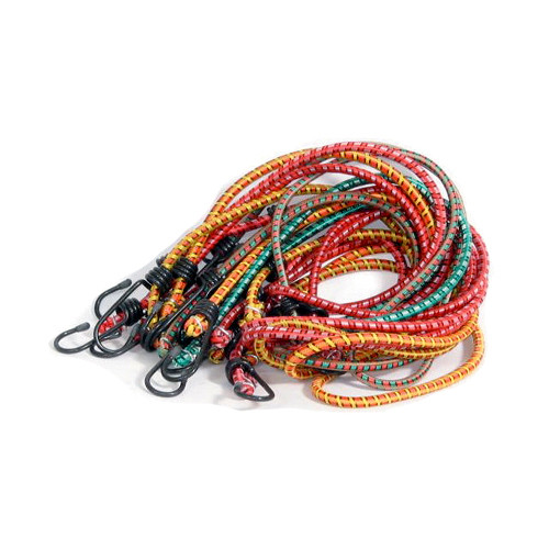 "12"" Multi Colored Bungee Tie Downs"