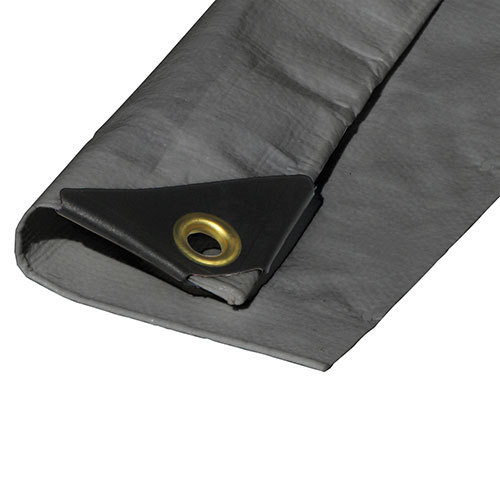 "05' X 07' Heavy Duty Premium Silver Poly Tarp (Actual Size 4'6"" X 6'6"")"