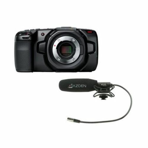 Pocket Cinema Camera 4K & Azden Compact Cine Mic Bundle