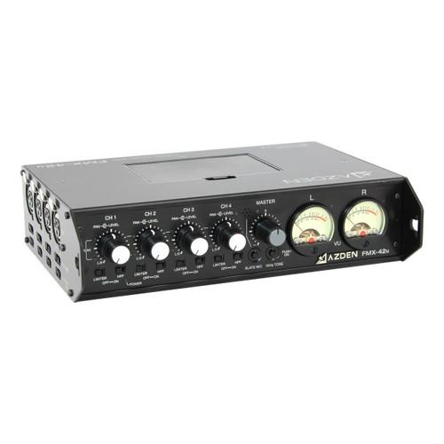 FMX-42U 4-channel portable mixer w/ USB digital output
