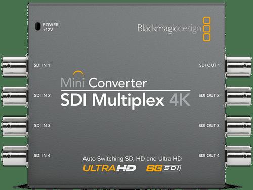 Mini Converter SDI Multiplex 4K