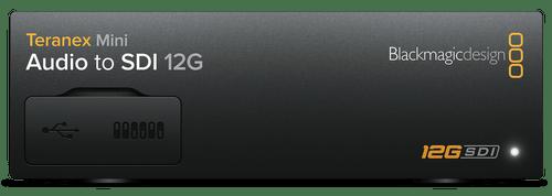 Teranex Mini Converters Audio to SDI 12G