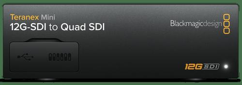 Teranex Mini Converters 12G-SDI to Quad SDI