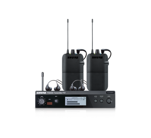 PSM 300 Twin-Pack Wireless System With Earphones