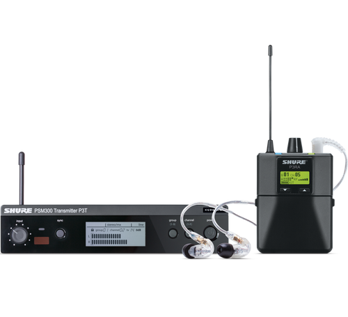 PSM 300 Professional Wireless System With Earphones