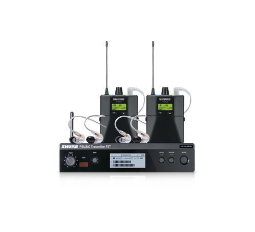 PSM 300 Twin-Pack Professional Wireless System With Earphones