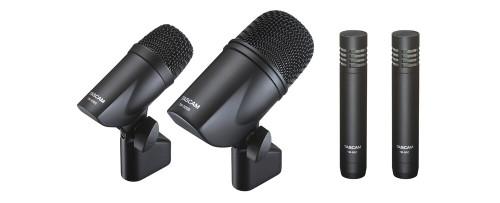 4-MICROPHONE BUNDLE FOR DRUM RECORDING