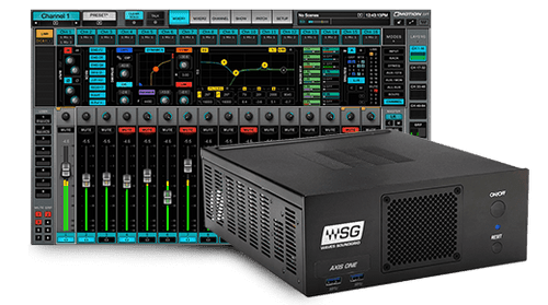 eMotion LV1 64-Channel Mixer + Axis One