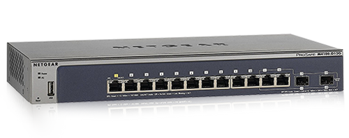 NETGEAR ProSafe M4100-D12G 12-port Switch