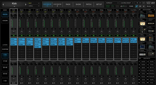 SuperRack SoundGrid