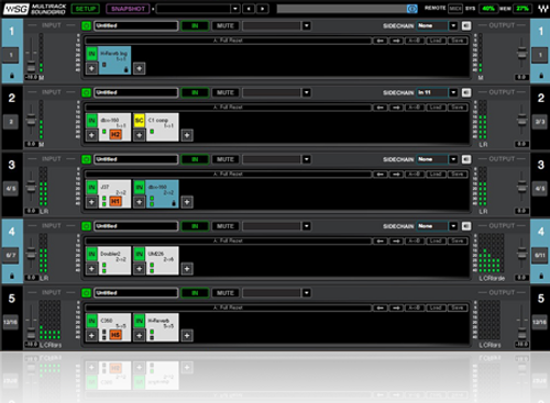 MultiRack SoundGrid Software for Front Of House and Monitor Engineers (Native License Included, Download)