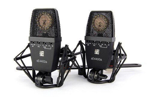 Factory Matched Pair of sE4400A Microphones