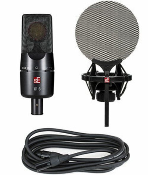 X1 S Microphone with Shockmount and Cable Bundle