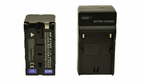 NP-F750 4600mAh L-Series Battery and Charger Kit