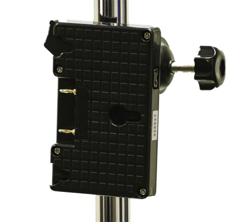 SC-AB Gold Mount Battery Plate Stand Clamp
