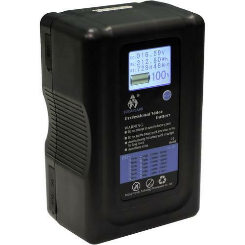 """The REAL BIG BOY"" Socanland 310Wh LCD Battery"