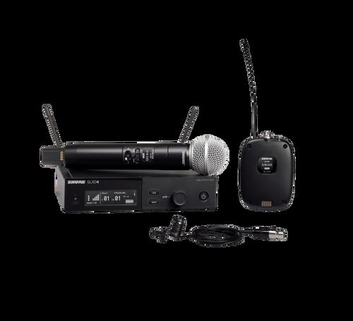 SLXD124/85 Digital Wireless Combo Microphone System