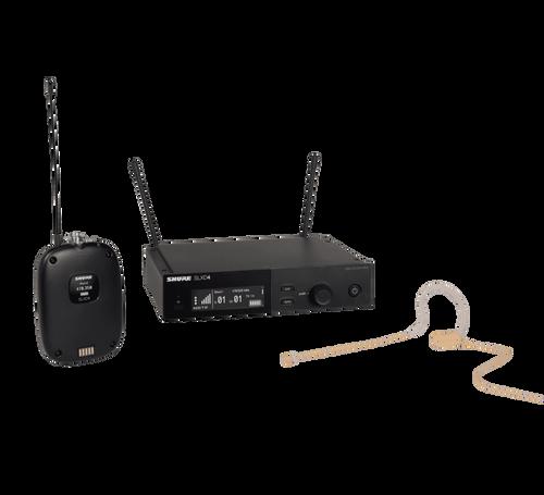 SLXD14/153T Digital Wireless Omni Earset Microphone System