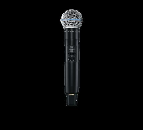 SLXD2/B58 Digital Wireless Handheld Microphone Transmitter with Beta 58 Capsule