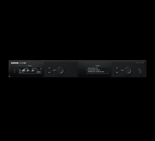 SLXD4D Dual-Channel Digital Wireless Receiver