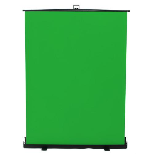 "HomeStream 76"" Tall Portable Pull Up Chroma Key Green Screen"