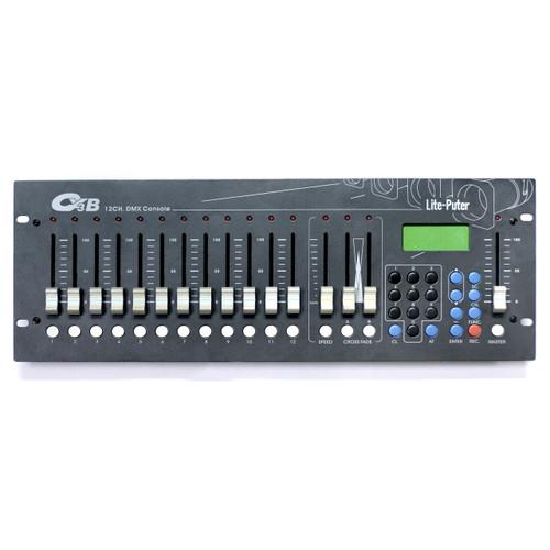 Lite-Puter 12-Channel DMX Lighting Console