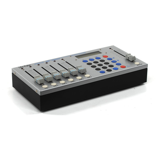 Lite-Puter Junior 6-Channel Compact DMX Console