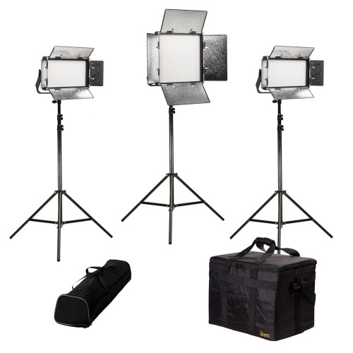 Rayden Daylight 3-Point LED Light Kit