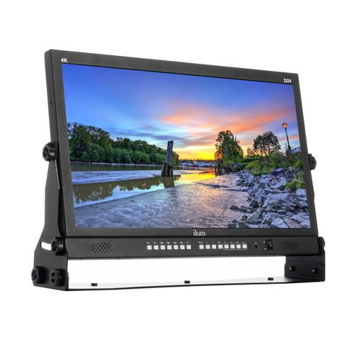 "23.8"" Native Ultra HD 4K Monitor with Quad Split Display"