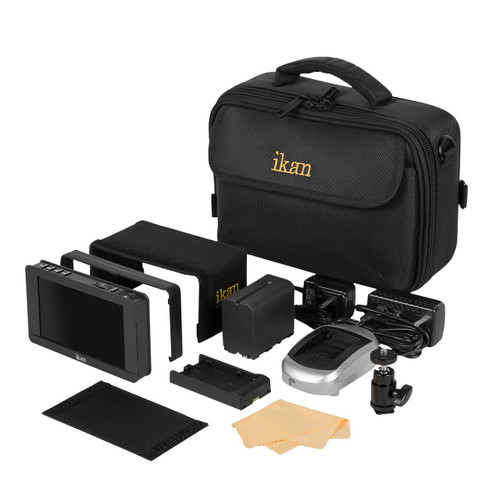 DH5e 4K Support HDMI On-Camera Monitor Deluxe Kit for Canon 900