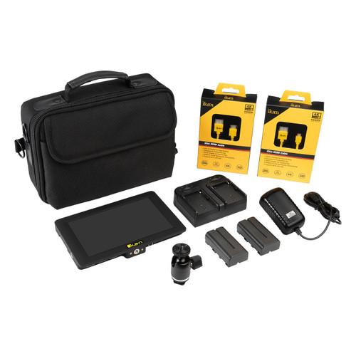 "Saga 7"" High Bright 4K Support HDMI/3G-SDI Monitor Deluxe Kit"