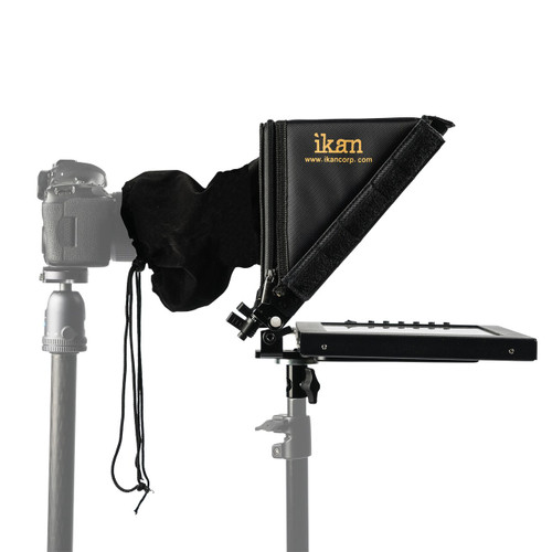 "12"" Portable Teleprompter for Light Stand"