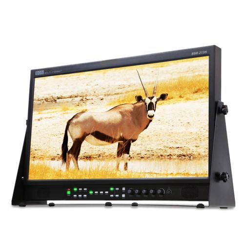 "21.3"" High Bright 1200 Nit 3G-SDI / HDMI LCD Studio Broadcast & Production  Monitor w/ Waveform, & Vectorscope (BON)"