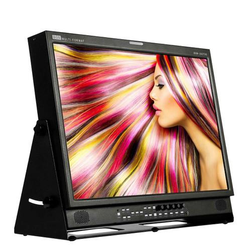 "24"" 3G-SDI / HDMI 12-Bit Studio Broadcast & Production Monitor"