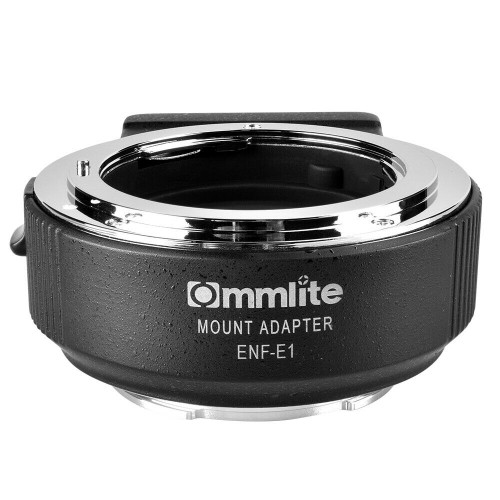 Pro Lens Adapter from NF lens to E-Mount Camera
