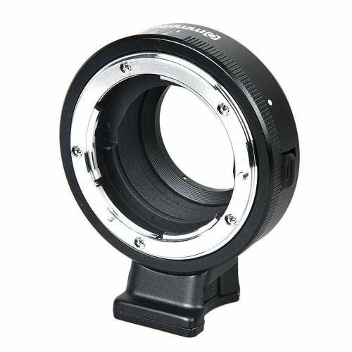 Lens Adapter Nikon-F Lens to M4/3 Camera