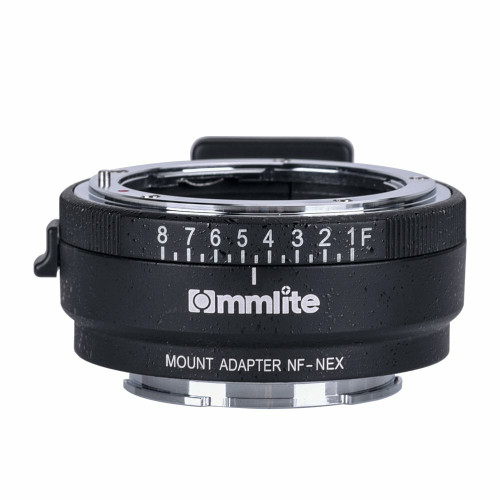 Lens Adapter from NF lens to E-Mount Camera