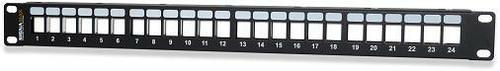 24 Port Field-Configurable Keystone Patch Panel