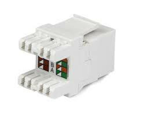 Category 5E/6 UTP RJ45 Keystone Jack (multiple colors)