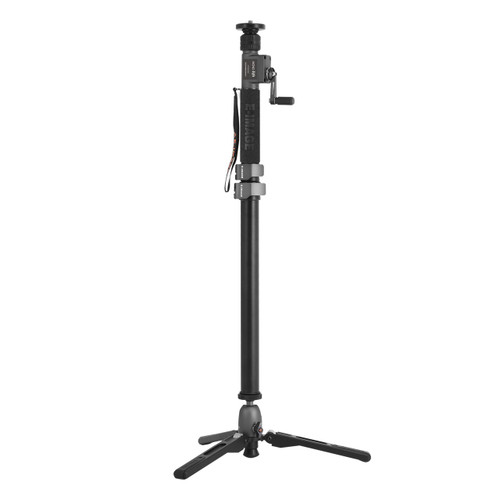 ML-900C Carbon Fiber Monopod w/Hand Crank Max. Height 72.8 in
