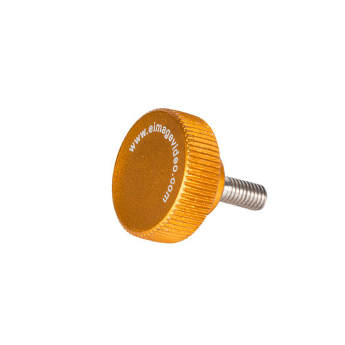 Knurled Thumbscrew M5 x 12.25mm (Orange)