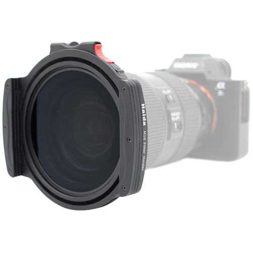 M10 100mm filter Holder w/Drop-in CPL & Adapter Ring