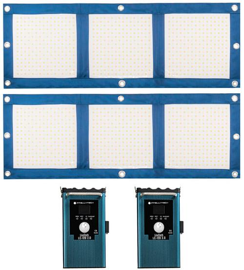 LiteCloth LC-120 2.0 2 Light Kit