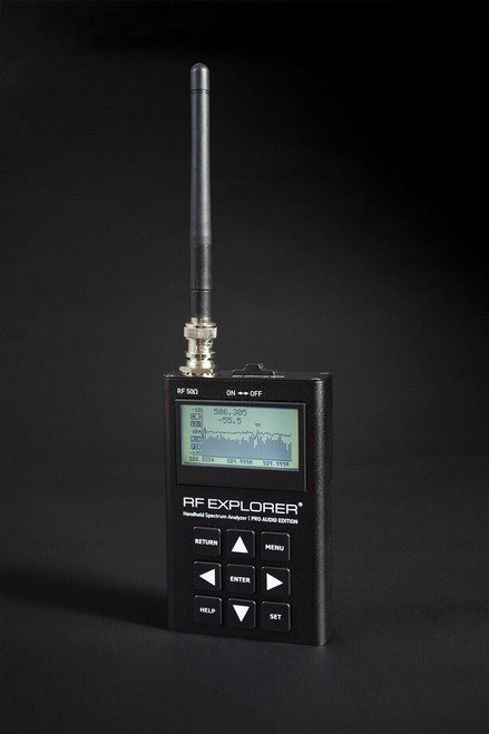 RF Explorer Pro Audio Edition Spectrum Analyzer